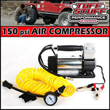 12 Volt 150psi HIGH VOLUME OFF ROAD PORTABLE AIR COMPRESSOR JEEP, TRUCK, CAR SUV