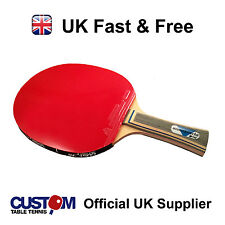 Blutenkirsche Mamba Strike Table Tennis Bat + Free Bat Case + Rubber protectors
