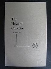 THE HOWARD COLLECTOR No. 18 Autumn 1973 – Robert E. Howard (2)
