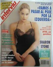 INTERVIU # 912 / SHARON STONE 6 pages LILI FONSECA 7 pages  Spanish mag Complete