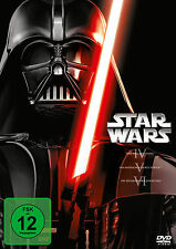 STAR WARS EPISODE 4 - 6 3er DVD Box Neu OVP