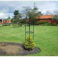 Garden Obelisk 1.9m Ideal for Climbing Plant Flowers Steel Frame Easy Assembly