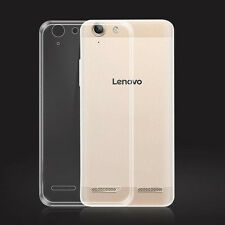 "For Lenovo Vibe K5 K5plus 5.0"" Ultra Thin Clear Gel Skin Case Cover"