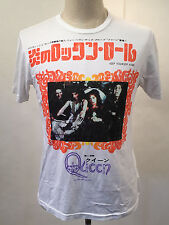 Chaser Men's T-Shirt Queen Keep Yourself Alive White Size M NEW Freddie Mercury