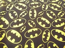 batman superhero's D.C comics / dark night    100% cotton fabric   F.Q or yard