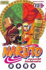 NARUTO tome 15 Kishimoto manga shonen *