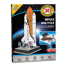 Construire votre propre Puzzle 3D Modèle Kit navette spatiale Discovery (87 pièces) NEUF