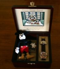 Mickey Mouse Watch and Doll! ~ Disney Rare Charlotte Clark ~ Hard To Find!