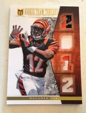 2012 Momentum Rookie Team Threads 3 Color Quad Patch Mohamed Sanu RC 13/15