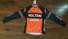 Brand NEW in PACK Stile Retrò EDDY MERCKX Molteni Cycle JERSEY TAGLIA EXTRA-LARGE