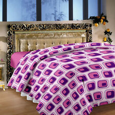 Story@Home Purple 1 Double Queen size Dohar/AC Quilt