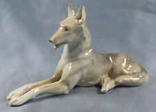 schäferhund Hund hundefigur porzellanfigur  figur saarloos wolfhund porzellan