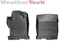 WeatherTech Custom Designed FloorLiner - Part # 444811 - 1st Row Black