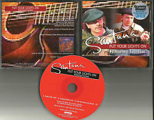 Carlos SANTANA & EVERLAST Put your Lights on RADIO & ORIGINAL EDIT PROMO DJ CD