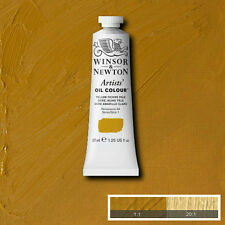 Winsor & Newton Artists Oil Color Paint Tube 37ml, Yellow Ochre Pale 1214746