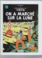 POP HOP TINTIN - ON A MARCHE SUR LA LUNE    EO REEDITION CASTERMAN DE 1992
