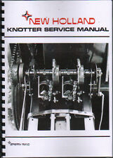 New Holland Pick-up Baler Knotter Service Manual Book