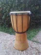 SALE ~ NEW 12 x 7 Handcarved Djembe Bongo Hand Drum for Kids
