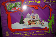 * TOWN HALL  *  Dept 56 Dr. Suess  Grinch Mint In Box RETIRED !!! Original