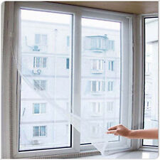 Door Window Flyscreen Wire Net Bug Mosquito Fly Mesh Screen Curtains Sticky Tape