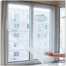 Hot Fashion Anti Mosquito Fly Bug Door Window Screen Net Mesh With Sticky Tape