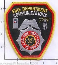 New York City NY Fire Dept Communications Patch