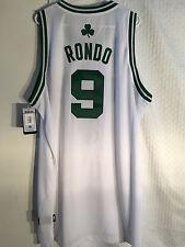 Adidas Swingman NBA Jersey Boston Celtics Rajon Rondo White sz 2X