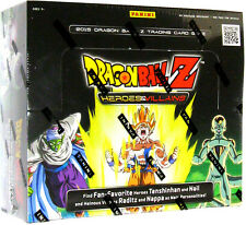 DRAGONBALL Z - Heroes & Villians Trading Card Game Booster Box (Panini) #NEW