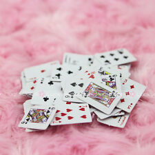 Poker Cards Playing Game 54pc for Barbie Doll Blythe Dollhouse Miniature 1:12