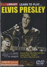 LICK LIBRARY Learn to Play ELVIS PRESLEY Lesson TUTOR Guitar DVD ROCK HOUND DOG
