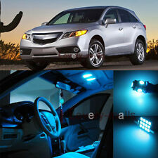 Deluxe Ice Blue Light Car Interior LED Package Kit For Acura RDX 2007-2014