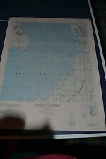 1940's Army topo map Gadsden Point Florida  4539 IV SW Macdill Field