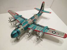 BOEING B-29 SUPERFORTRESS NEAR MINT CONDITION ALL TIN MADE IN JAPAN