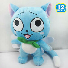 fairy tail standing happy Plush doll stuffed toy new 12""