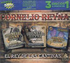 Cornelio Reyna El Rey de las Cantinas 3CD New Nuevo sealed