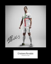 CHRISTIANO RONALDO #1 Signed Photo Print 10x8 Mounted Photo Print - FREE DEL