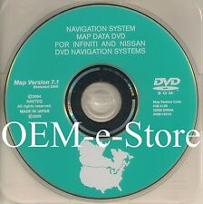 2006 Infiniti G Model G35 G35x Sedan Coupe Navigation System DVD Map U.S Canada