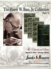 Us Paper Money Bank Notes - Harry W. Bass Jr. Collection Part V, Stacks Bowers