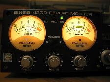 UHER Report 4200 Monitor - 3 teste-CON ACCESSORI-Top Condizione