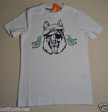 Gymboree boy ruff seas tee shirt size 7 NWT top boys short sleeve white