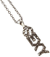 """New 18"""" Crystal Accent Small SEXY Charm Necklace"""