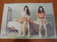 DAVICHI - Mystic Ballad  (2 Sided) [OFFICIAL] POSTER K-POP *NEW*