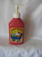 Sanrio Hello Kitty Liquid Creme Soap Dispenser Vintage Used 1976, 1982