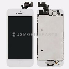 White Iphone 5 LCD Screen Touch Screen Digitizer Glass Home Button + All Parts