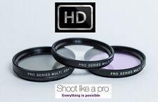 3Pc HD FIlter Kit (UV + PL + FLD) For Panasonic HC-V700K HC-V700MK HC-V700