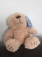 """CHAD VALLEY Curly bear teddy  SMALL 7"""" BEIGE SOFT CUDDLY TOY  CUDDLE CLUB   B1"""