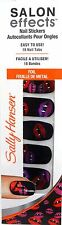 Sally Hansen Salon Effects Nail Stickers Halloween Foil Lips~ #850 Kiss My Fangs