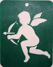 "STENCIL FLEXIBLE VINYL/TEMPLATE  ""CUPID "" card size Made in Australia"