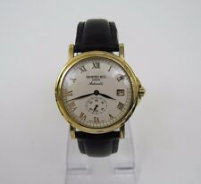 Raymond Weil Men's Geneve 2835 27 Jewels Automatic Gold Plated Sub Dial Watch