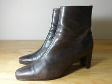 Womens boots size 6.5 brown leather Russell &Bromley ladies ankle boots size 6.5